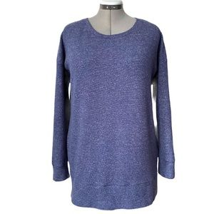 Pullover sweatshirt with side zips by Danskin. XL